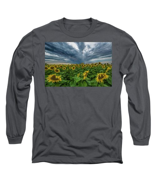 Long Sleeve T-Shirt featuring the photograph Beautiful Disaster  by Aaron J Groen