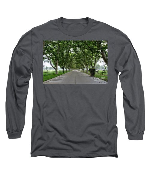 Entrance To River Edge Farm Long Sleeve T-Shirt