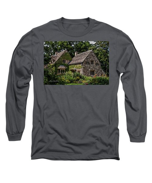 Long Sleeve T-Shirt featuring the photograph Beautiful Home by Joann Copeland-Paul
