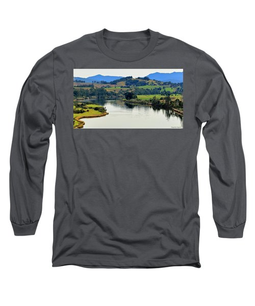Beautiful Manning River 06663. Long Sleeve T-Shirt