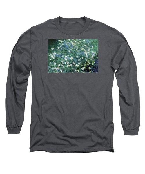 Beautiful Summer Blues Long Sleeve T-Shirt by The Art Of Marilyn Ridoutt-Greene