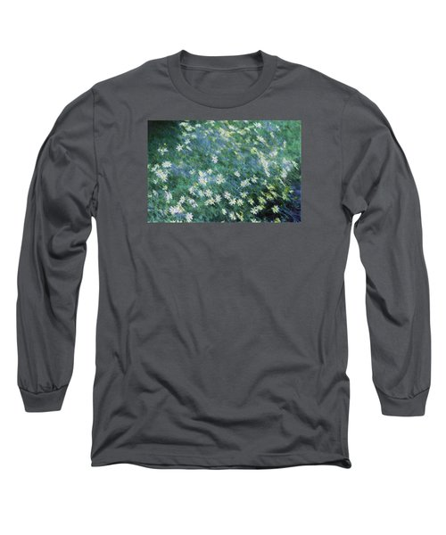 Beautiful Summer Blues Long Sleeve T-Shirt