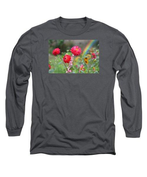 Beautiful Summer Flowers Long Sleeve T-Shirt by Jim Fitzpatrick