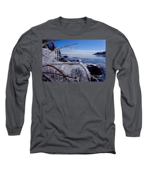 Beautiful Winter Day Long Sleeve T-Shirt by Sandra Updyke