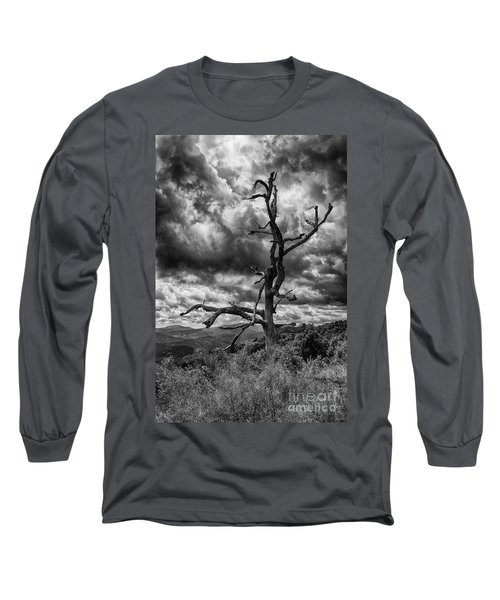 Beautifully Dead In Black And White Long Sleeve T-Shirt