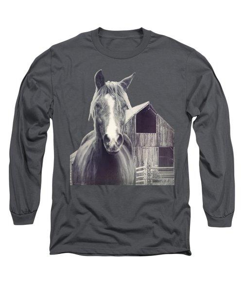 Beauty And The Barn Long Sleeve T-Shirt