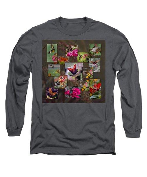 Beauty In Butterflies Long Sleeve T-Shirt