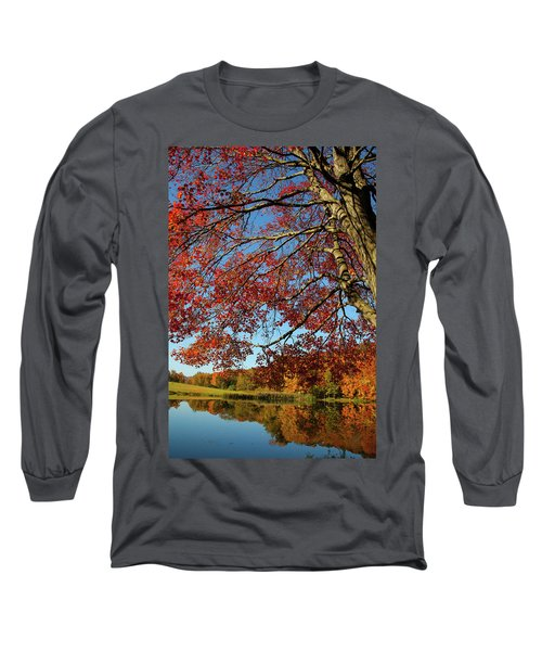 Long Sleeve T-Shirt featuring the photograph Beauty Of Fall by Karol Livote
