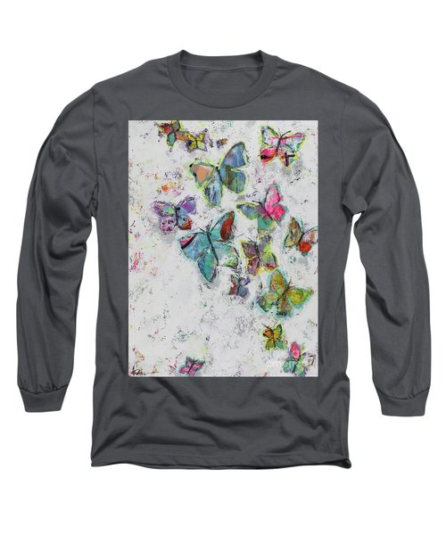 Becoming Free Long Sleeve T-Shirt by Kirsten Reed