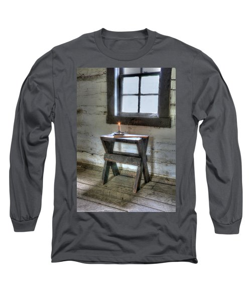 Long Sleeve T-Shirt featuring the digital art Bedford Village 2 by Sharon Batdorf