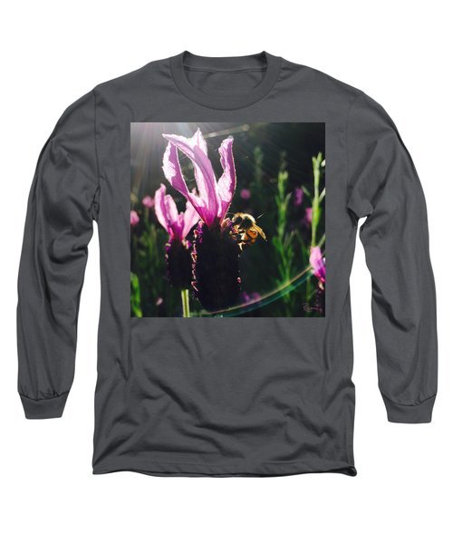 Bee Illuminated Long Sleeve T-Shirt