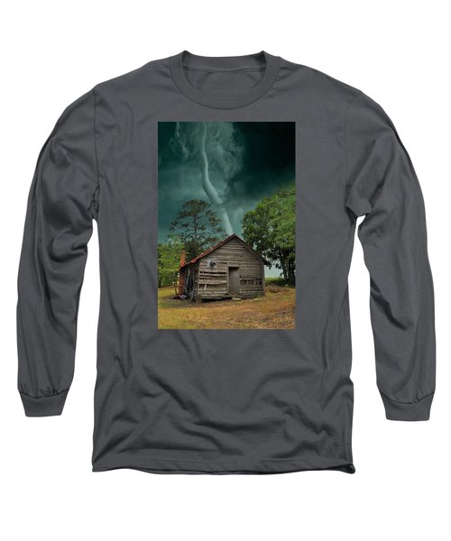 Long Sleeve T-Shirt featuring the photograph Been There Before by Jan Amiss Photography