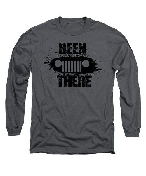 Been There In A Jeep Long Sleeve T-Shirt
