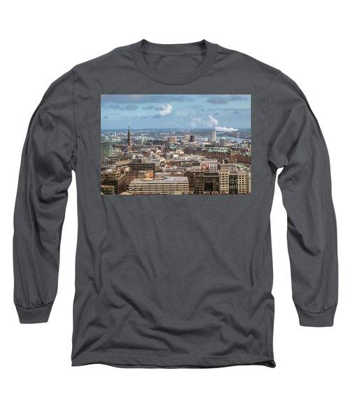 Befor A Snow Storm Hamburg Long Sleeve T-Shirt