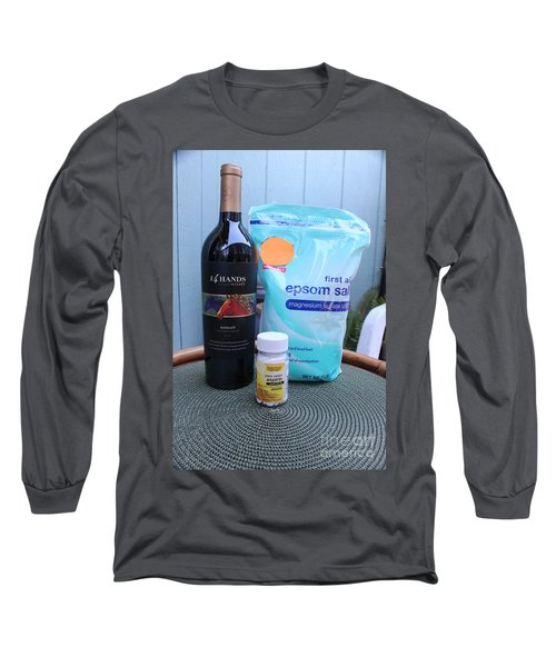 Before During And After Long Sleeve T-Shirt