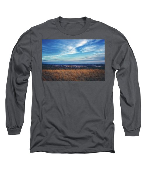 Before Sunset At Retzer Nature Center - Waukesha Long Sleeve T-Shirt by Jennifer Rondinelli Reilly - Fine Art Photography