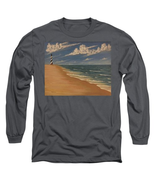 Before The Move Long Sleeve T-Shirt by Stacy C Bottoms