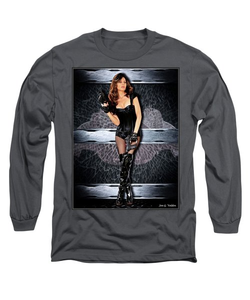 Behind Space Long Sleeve T-Shirt