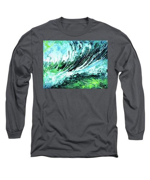 Behind The Curtain Long Sleeve T-Shirt