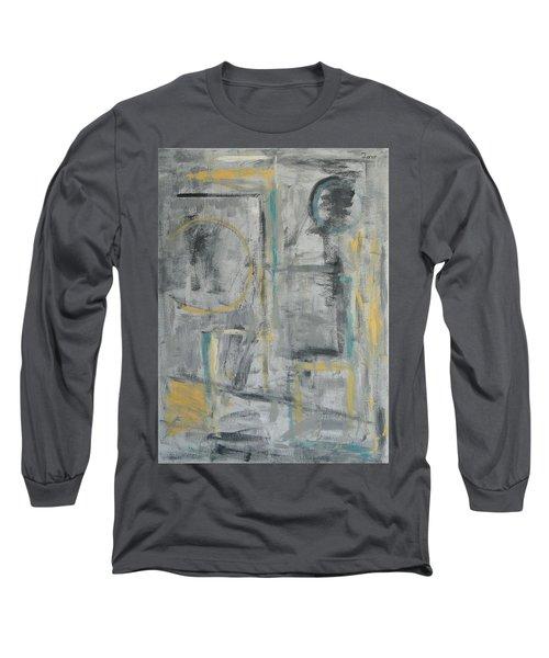 Behind The Door Long Sleeve T-Shirt by Trish Toro