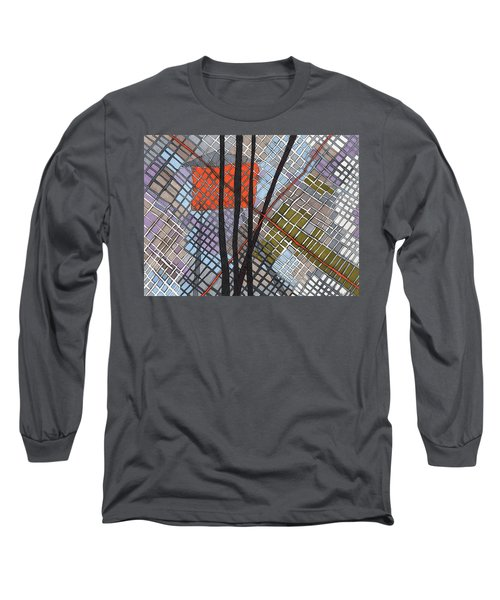 Behind The Fence Long Sleeve T-Shirt by Sandra Church