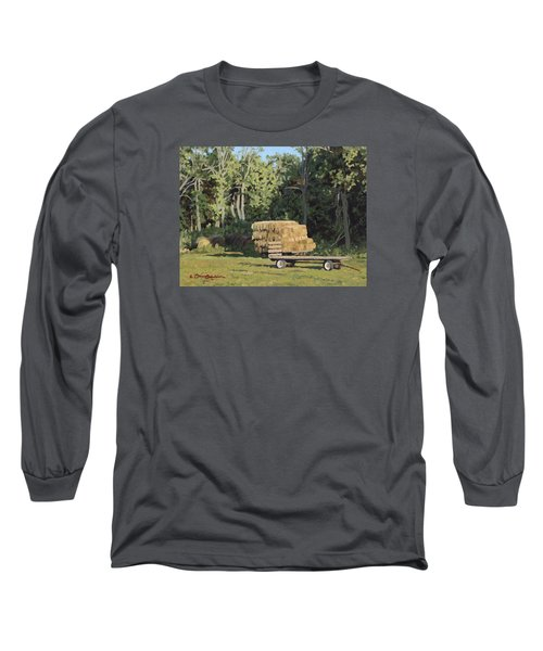 Behind The Grove Long Sleeve T-Shirt by Bruce Morrison