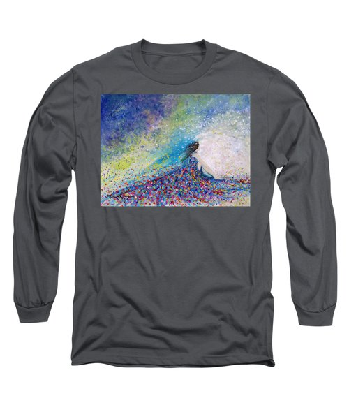 Being A Woman - #5 In A Daydream Long Sleeve T-Shirt
