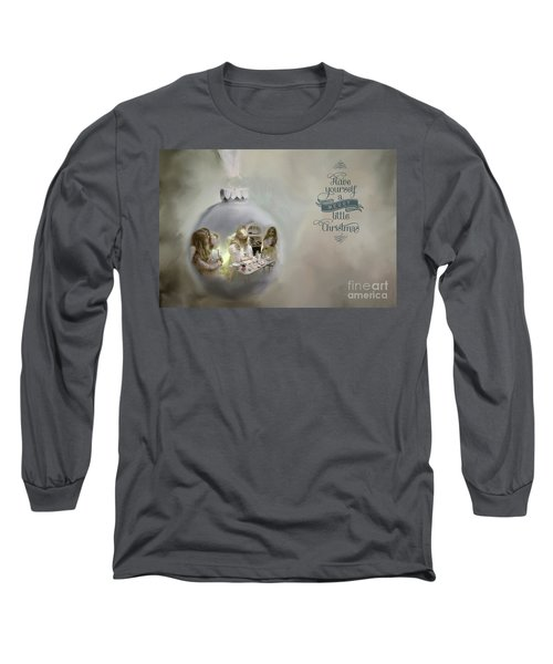 Believe In The Magic Of Christmas Long Sleeve T-Shirt