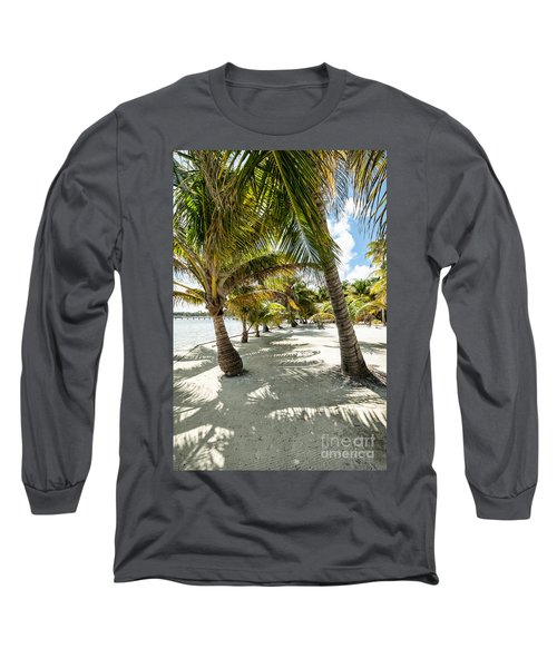 Belizean Palms Long Sleeve T-Shirt