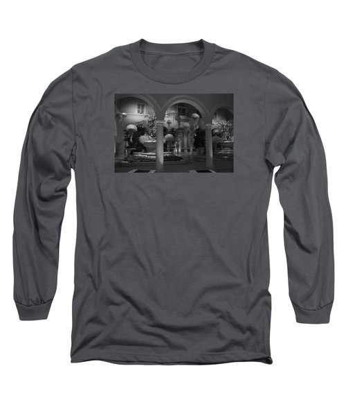 Bellagio Entrance Long Sleeve T-Shirt by Ivete Basso Photography