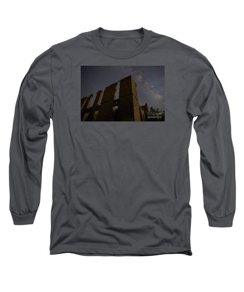 Long Sleeve T-Shirt featuring the photograph Belle Plain College - Texas by Keith Kapple