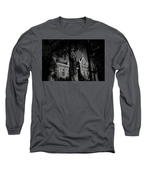 Long Sleeve T-Shirt featuring the photograph Belmont Abbey by Jessica Brawley