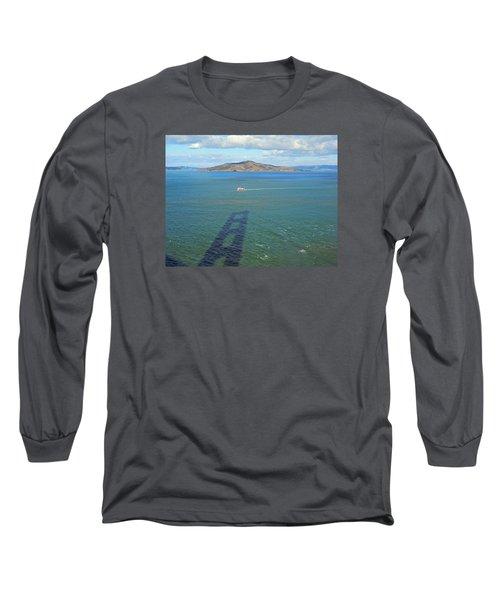 Below And Beyond The Golden Gate Bridge Long Sleeve T-Shirt