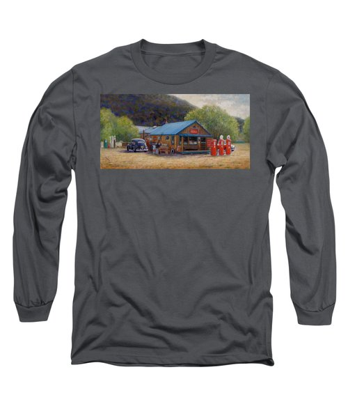 Below Taos 2 Long Sleeve T-Shirt by Donelli  DiMaria