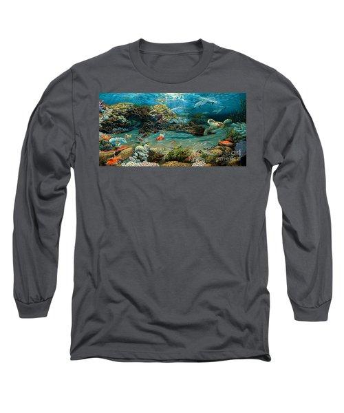 Beneath The Sea Long Sleeve T-Shirt by Ruanna Sion Shadd a'Dann'l Yoder