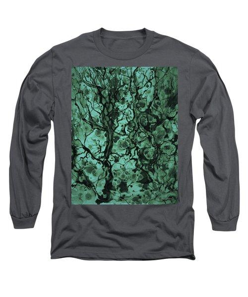 Beneath The Surface Long Sleeve T-Shirt by David Gordon