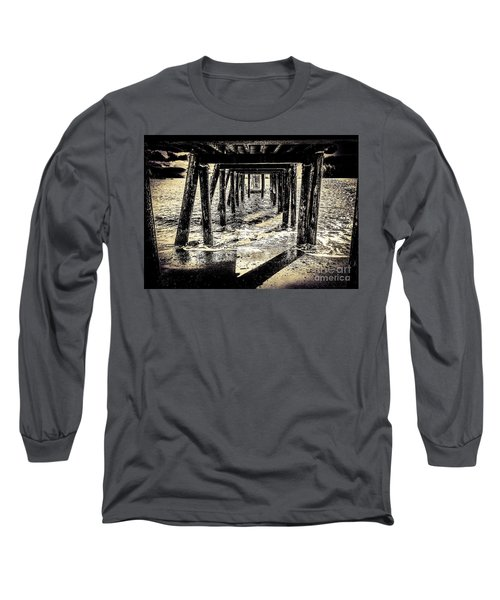 Long Sleeve T-Shirt featuring the photograph Beneath by William Wyckoff