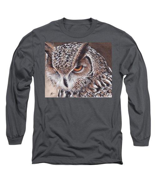 Bengal Eagle Owl Long Sleeve T-Shirt