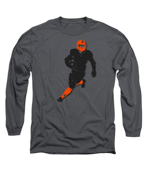 Bengals Player Shirt Long Sleeve T-Shirt by Joe Hamilton