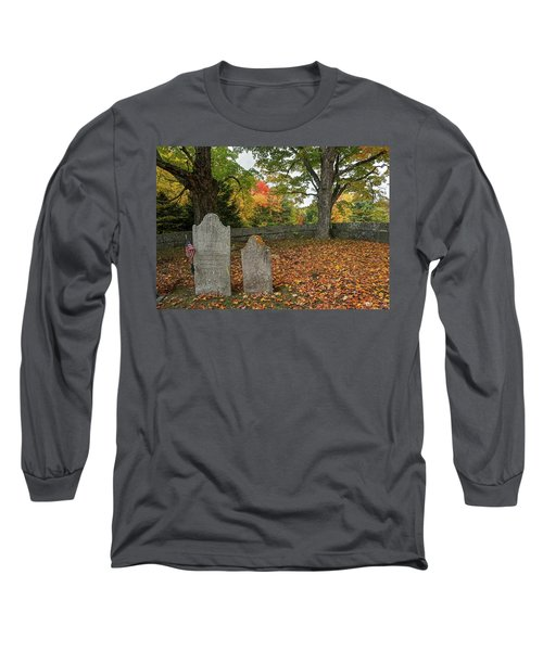 Long Sleeve T-Shirt featuring the photograph Benjamin Butler Grave by Wayne Marshall Chase