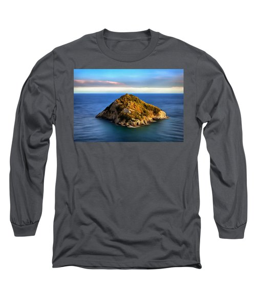 Bergeggi Island Long Sleeve T-Shirt