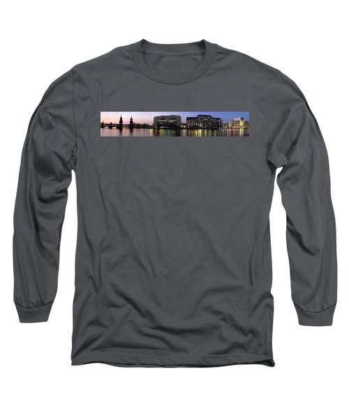 Long Sleeve T-Shirt featuring the photograph Berlin 360 Grad  by Juergen Held