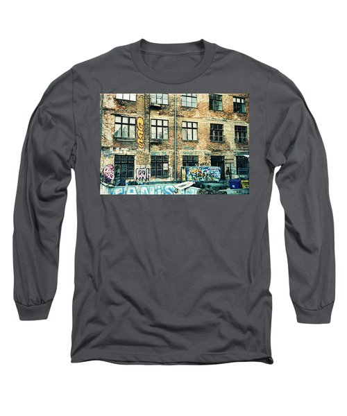Berlin House Wall With Graffiti  Long Sleeve T-Shirt