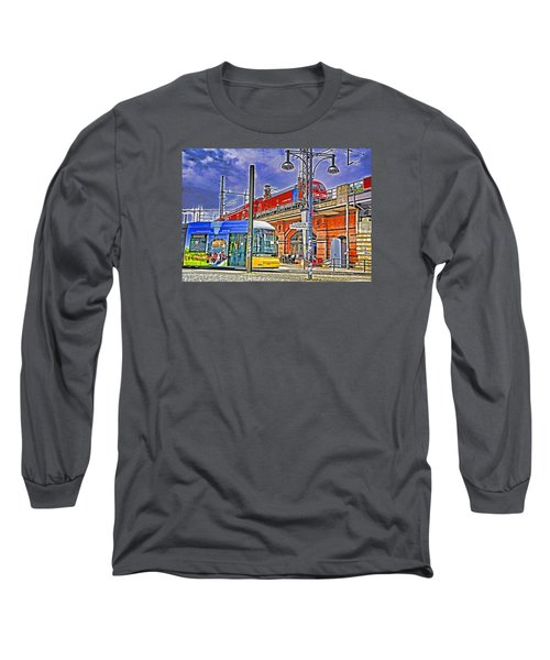 Long Sleeve T-Shirt featuring the photograph Berlin Transit Hub by Dennis Cox WorldViews