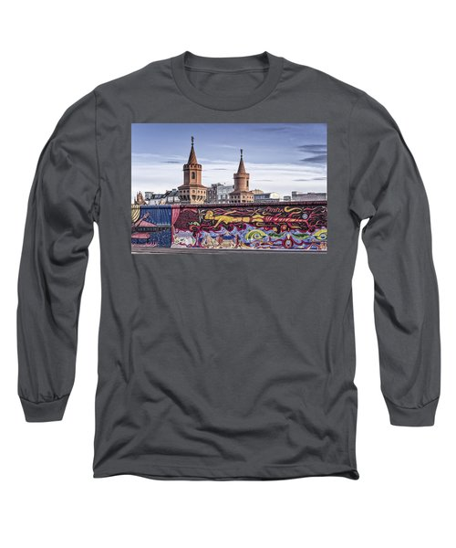 Long Sleeve T-Shirt featuring the photograph Berlin Wall by Juergen Held