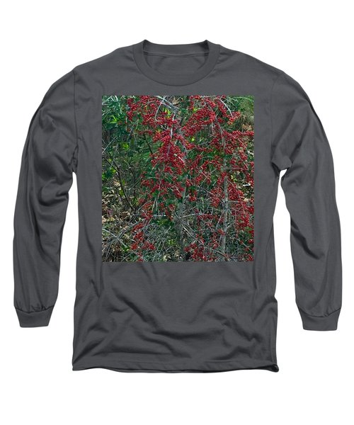 Berries In Styx Long Sleeve T-Shirt