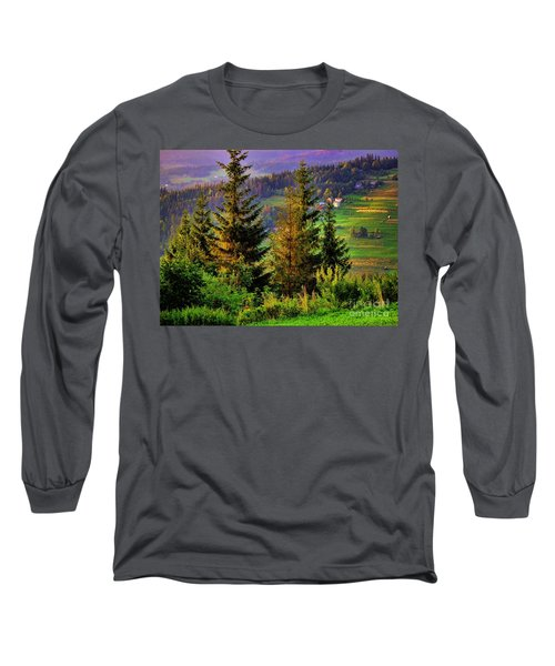 Long Sleeve T-Shirt featuring the photograph Beskidy Mountains by Mariola Bitner