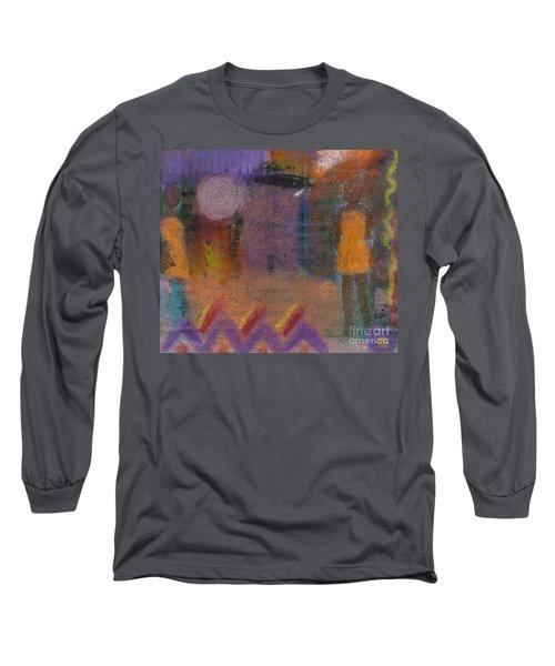 Best Friends Long Sleeve T-Shirt by Angela L Walker