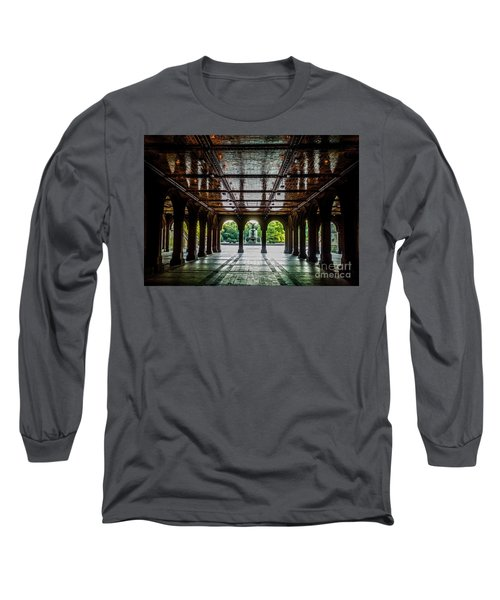 Bethesda Terrace Arcade 2 Long Sleeve T-Shirt