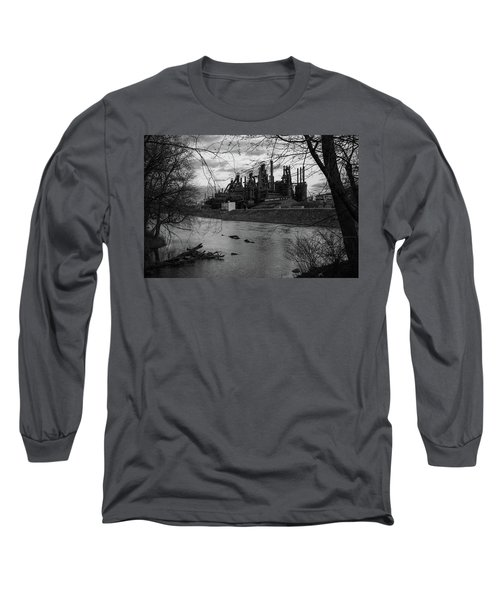Bethlehem Steel Bw Long Sleeve T-Shirt